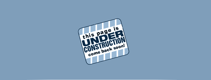 Site under construction, come back soon! - Bugiweb